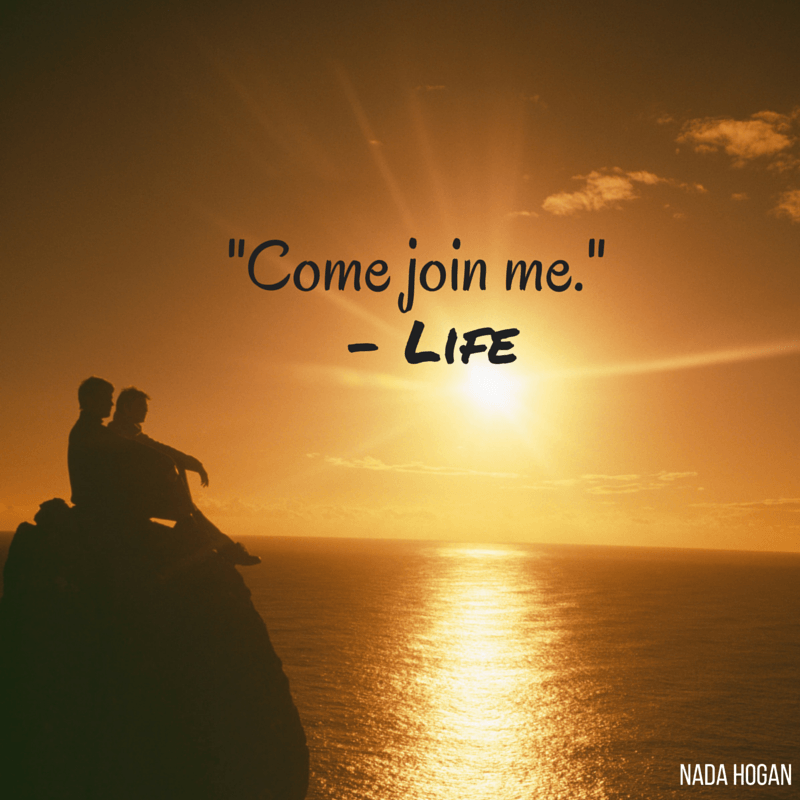 Why Don't You Join Me?