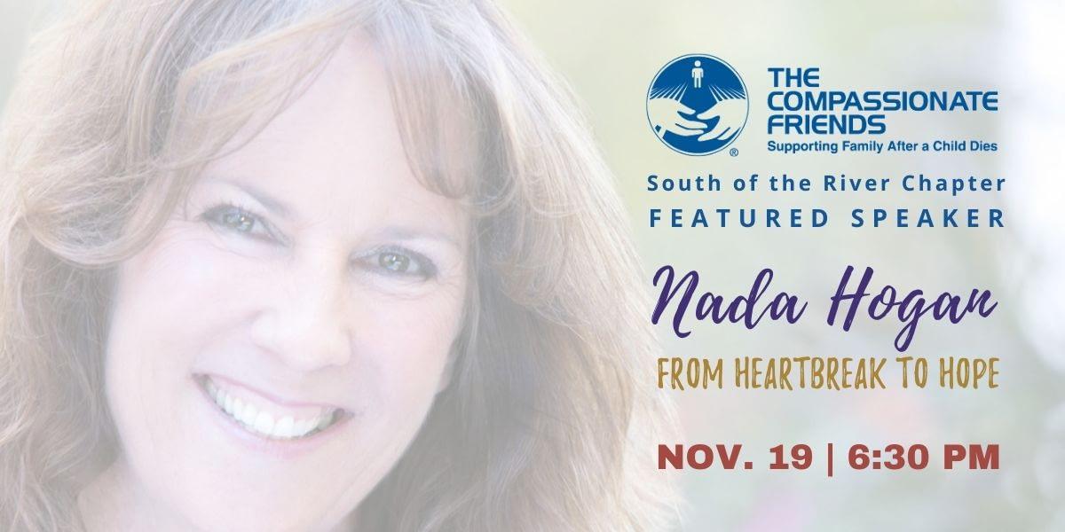 Heartbreak to Hope Speaker Nada Hogan